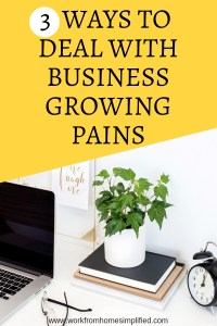3 Ways to Deal With Growing Pains