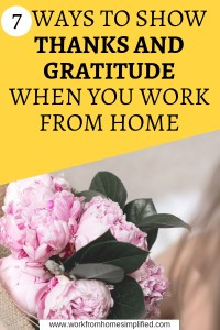 Ways to Show Thanks and Gratitude