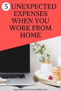 Unexpected Expenses When You Work from Home