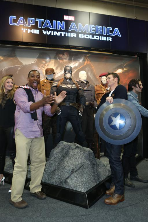 "Marvel's ""Captain America"" during Comic-Con International 2013 at San Diego Convention Center"