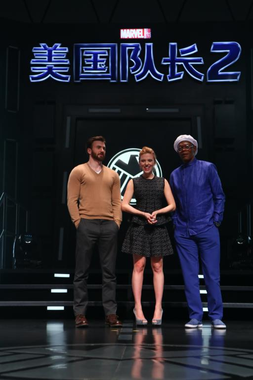 "Marvel's ""Captain America: The Winter Soldier"" Beijing Press Conference"