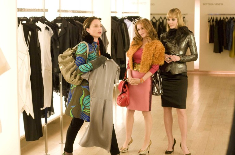 Confessions of a Shopaholic (2009) Press Day  Interviews with Isla ... 7033e81371