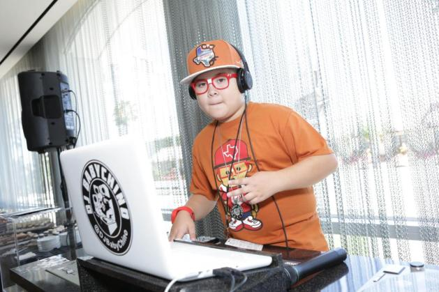 DJ BABYCHINO at the GBK Pre-ESPY Award Lounge