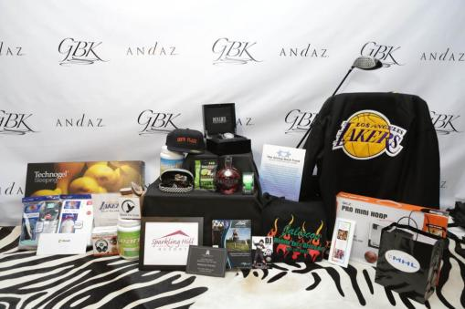 Products at the GBK Pre-ESPY Award Lounge 2013