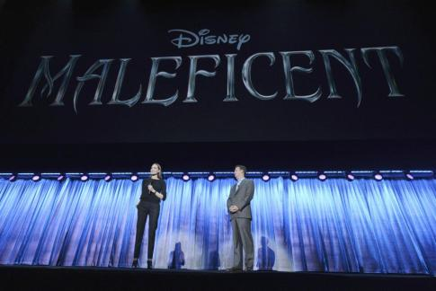 ANGELINA JOLIE, SEAN BAILEY (PRESIDENT, DISNEY LIVE ACTION PRODUCTION)