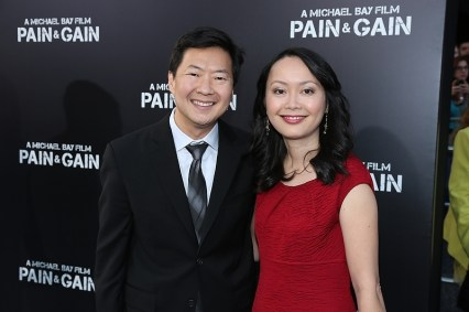 Ken Jeong and wife Tran Jeong