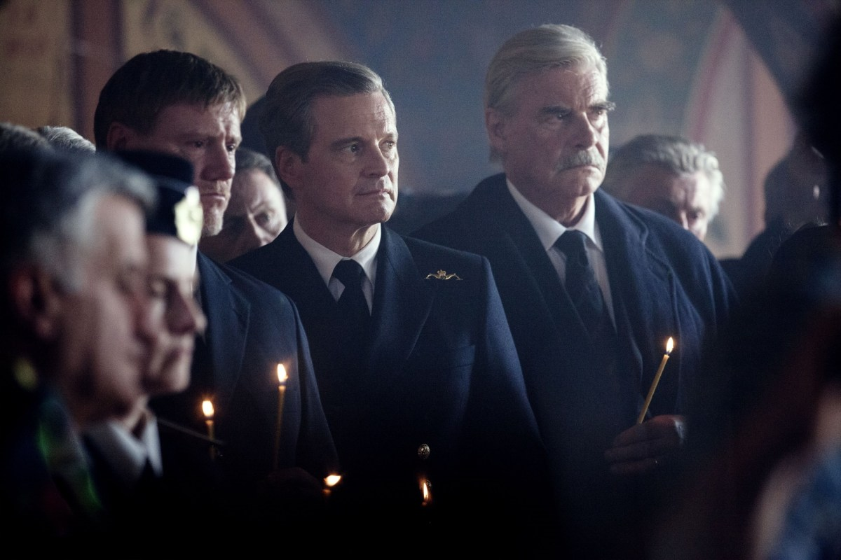 Colin Firth in The Command (2019).