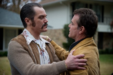 Michael Shannon and Ray Liotta in 'The Iceman'. (Courtesy of  Millennium Entertainment)