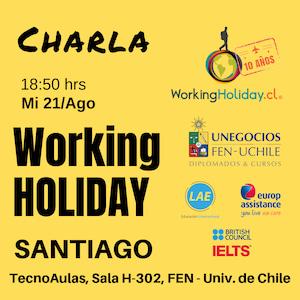 working holiday irlanda charla