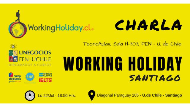 Charla Working Holiday - Y Así Son Mis Viajes