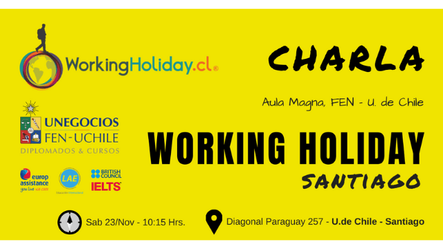 Charla Working Holiday Santiago FEN
