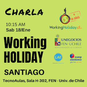 Charla Manuel Araya Working Holiday Nueva Zelanda