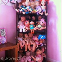 My daughter doesn't have any dolls