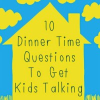 Dinner Time Questions to Get Kids Talking