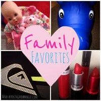 Family Favorites: May
