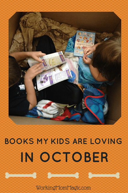 A roundup of my kids favorite books