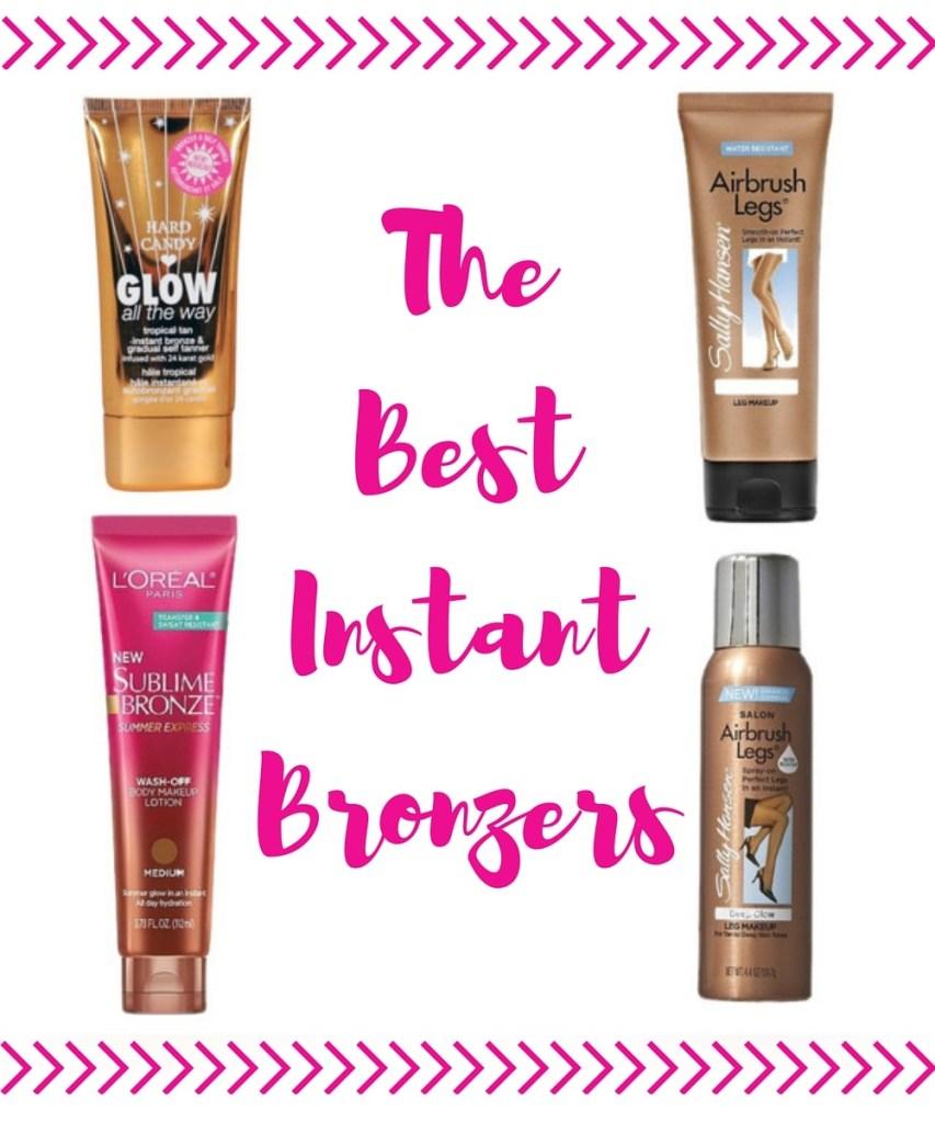 The Best Instant Bronzers