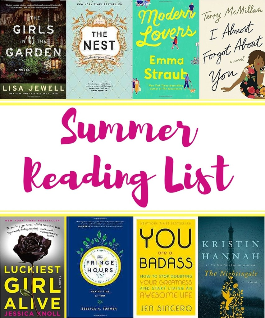 Summer Reading List blog