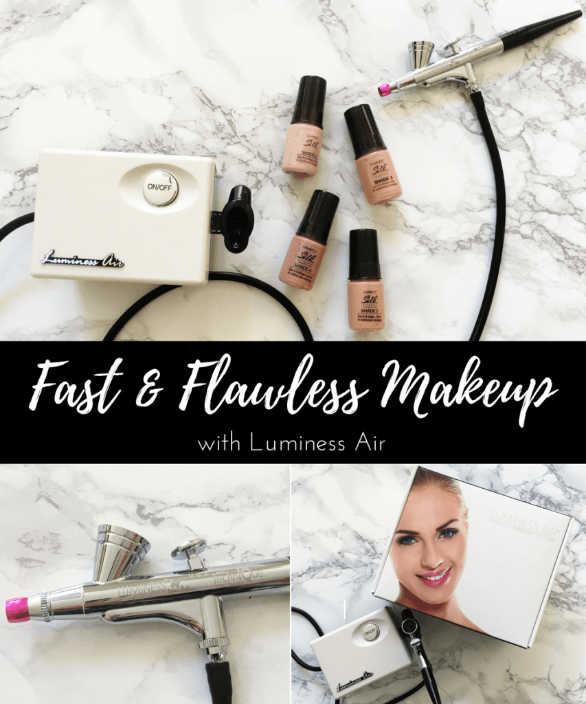 Fast & Flawless Makeup with Luminess Air
