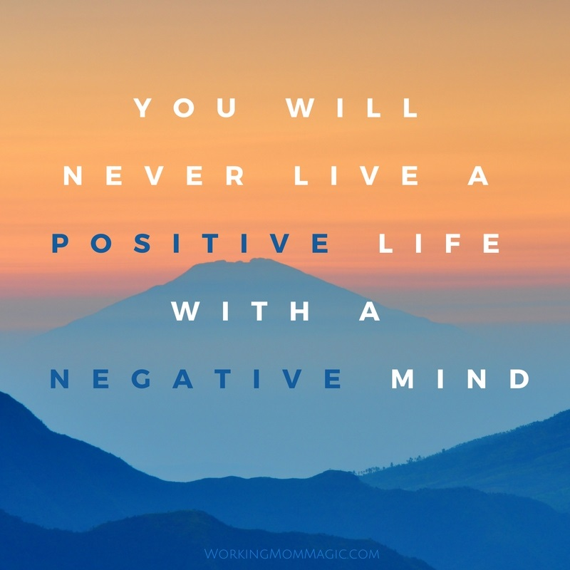 positive life negative mind QUOTE