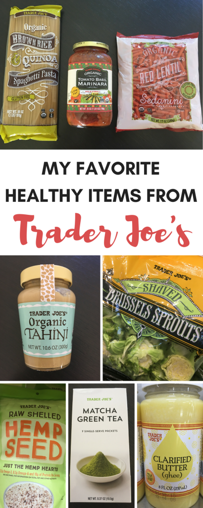 My Favorite Healthy Items from Trader Joe's
