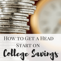 How to Get a Head Start on College Savings