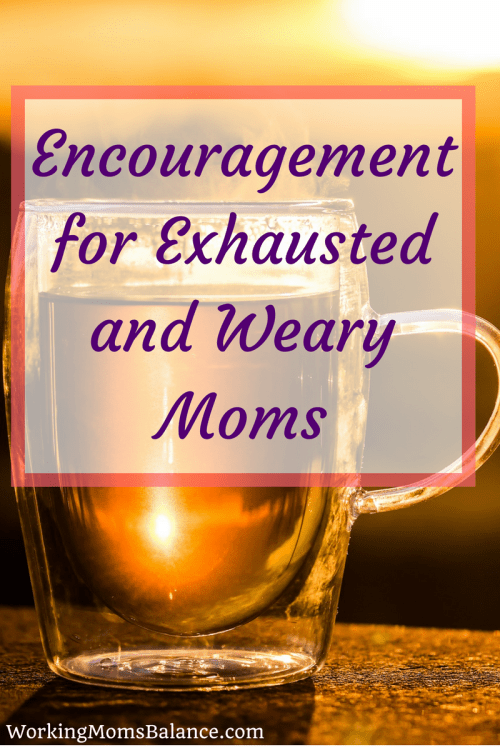 Being a mom of littles is hard and exhausting. This post shares a note of encouragement for weary moms. This time is so very hard, but it does pass. If you are an exhausted mom who needs a little hope, this can help.