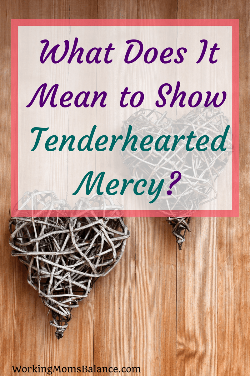 The Bible tells us to clothe ourselves with tenderhearted mercy, but what does that look like on a practical level in this day and age? This post seeks to explore how the small moments in our every day lives can allow us the opportunity to change the world through tenderhearted mercy and small acts of love.