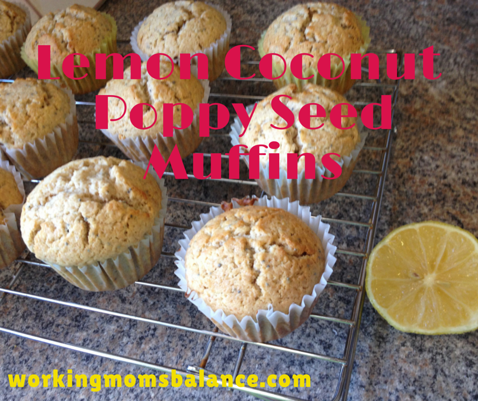 Lemon Coconut Poppy Seed Muffins (1)