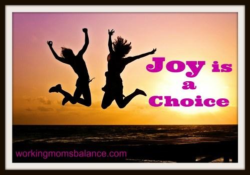 joy is a choice