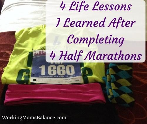 4 Life Lessons I Learned After Completing 4 Half Marathons