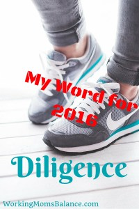 Word for 2016 diligence