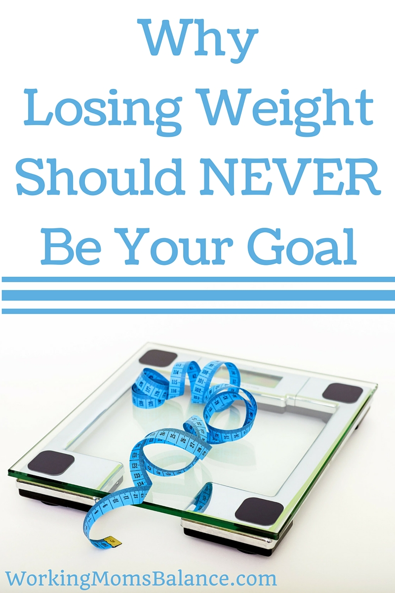 Losing Weight Should NEVER Be Your Goal