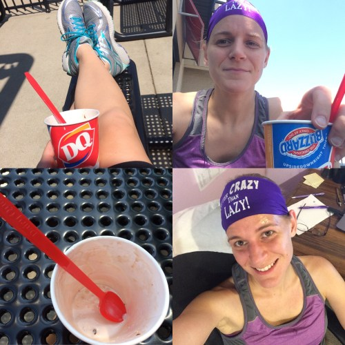 I run for DQ blizzards.