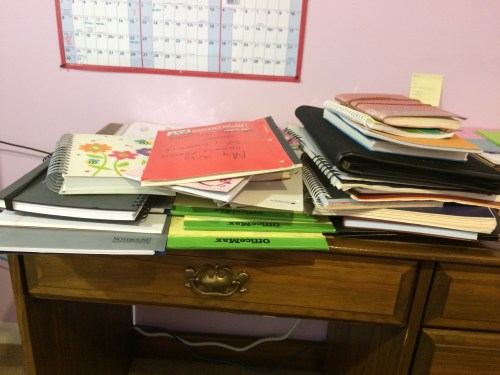 So. Many. Notebooks.