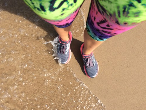 One of my favorite training runs was along the Lake Michigan shore.