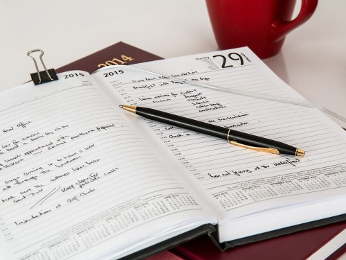 create a schedule every day when working from home