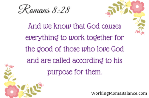 Romans 8:28 - printable verse card