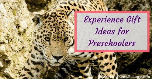 Experience Gift Ideas for Preschool Kids