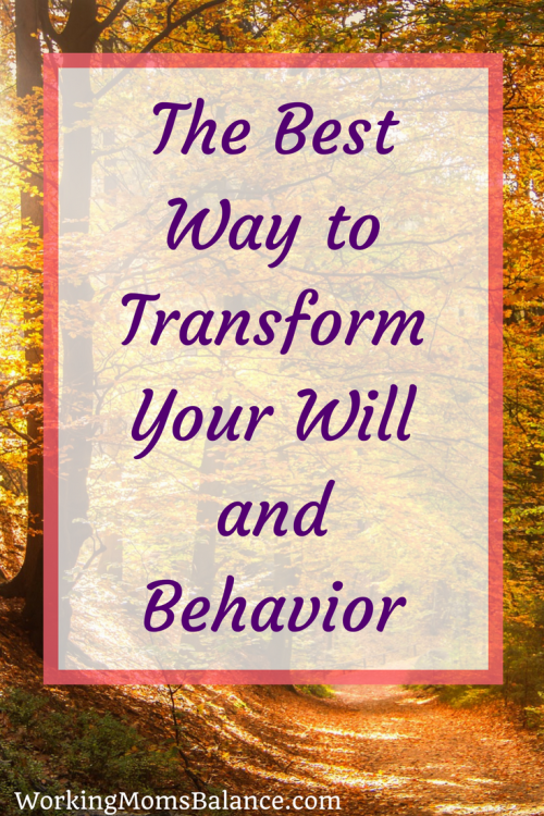 Do you struggle to do what you want to do and not to do what you don't want to do? There is an important first step that must be done if we want to experience true change. If you are ready to transform your will and behavior, you must start by renewing your mind. When we transform our mind than our behavior will naturally change.