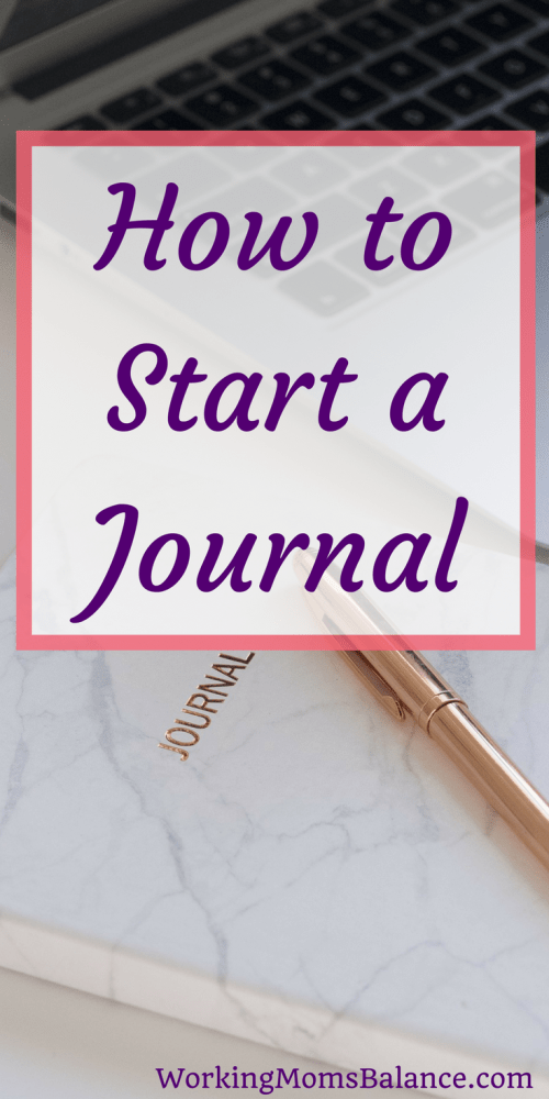 You may have heard about the benefits of journaling, or maybe you have a friend who seems to have it all together and swears by journaling. But you're feeling a little unsure and intimidated about where to start. This post teaches you how to start a journal. There are many different types and formats of journals to help you find what works best for you.