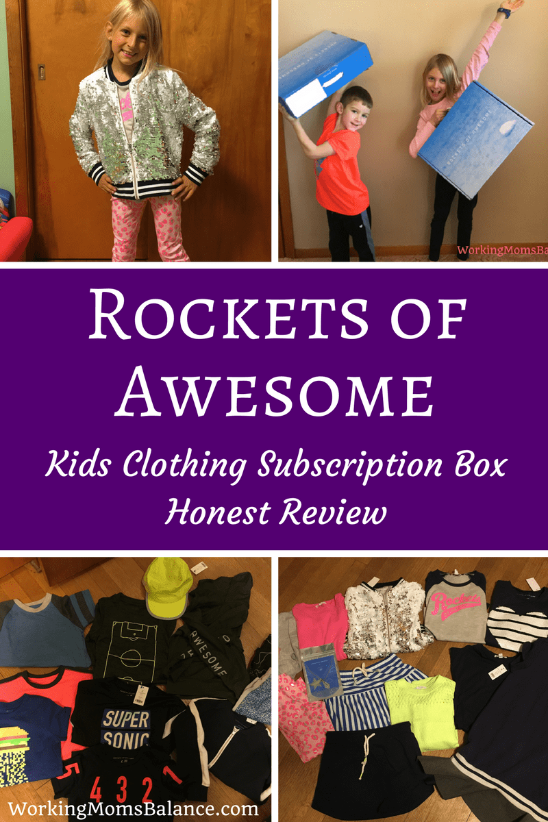 Rockets of Awesome is a kids clothing subscription box. In this post I share all the details about what it is and how are family likes it. Be sure to catch all the details in my completely honest Rockets of Awesome Review. #rocketsofawesome #kidsfashion #subscriptionboxes