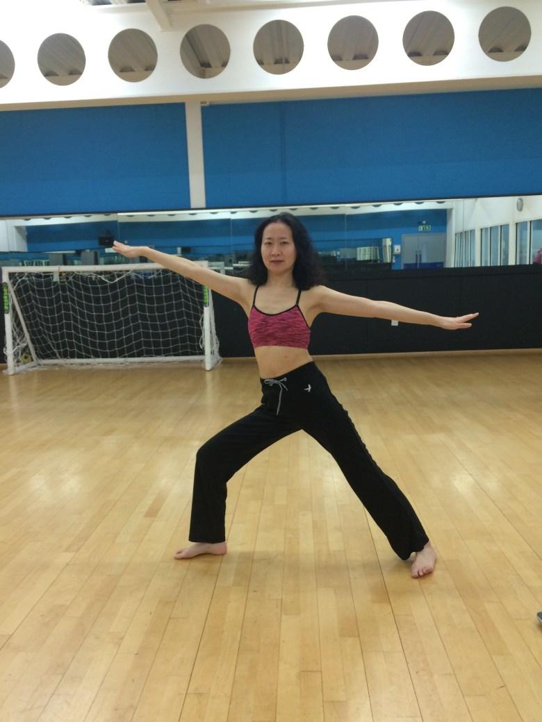 Yoga Pose – Warrior II
