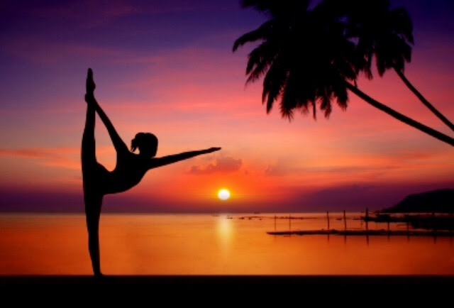 Yoga – front split posture
