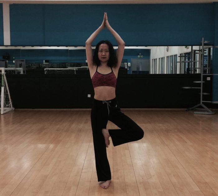Yoga – tree pose