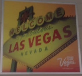 Welcome sign saying Las Vegas, Nevada