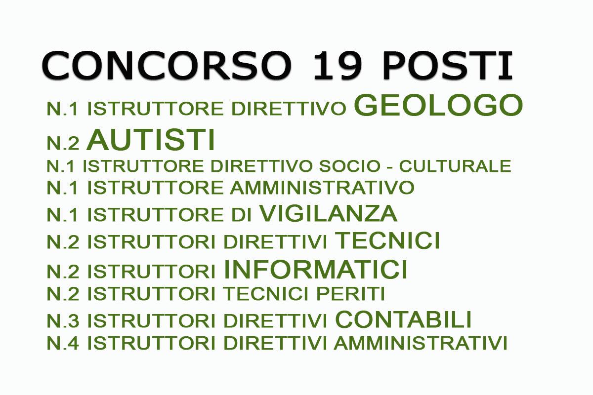 Comune Di Pescara Bandi Di Concorso Per N 19 Posti Di