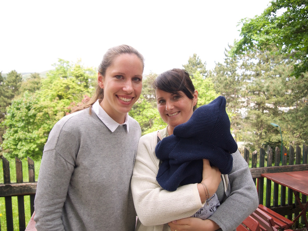 Running Clinic Moms - Franziska & Frenzi