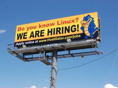 outdoor recruitment billboard example