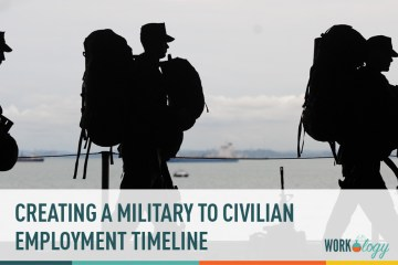 Create a Military to Civilian Employment Timeline